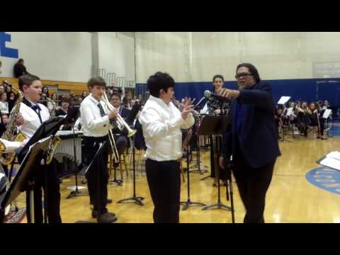"""Cold Sweat"" - The AMP Project with the Mashpee Middle School Jazz Band"
