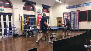 2018-19 Trafford & District Table Tennis Closed Championships Finals Night Video