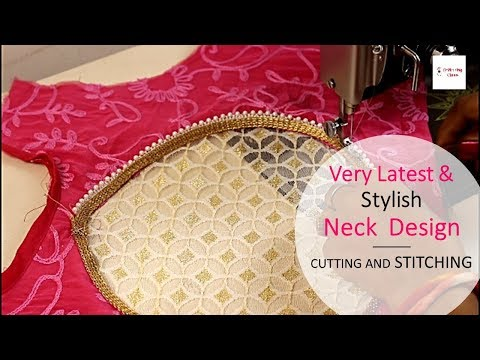 Very Latest and Stylish Neck Design cutting and stitching, Creative and Beautiful Neck Design