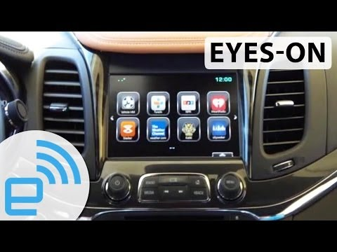 OnStar 4G LTE at CES 2014 | Engadget