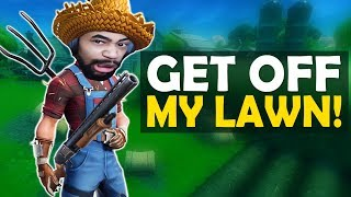 GET OFF MY LAWN! | HIGH KILL FUNNY GAME