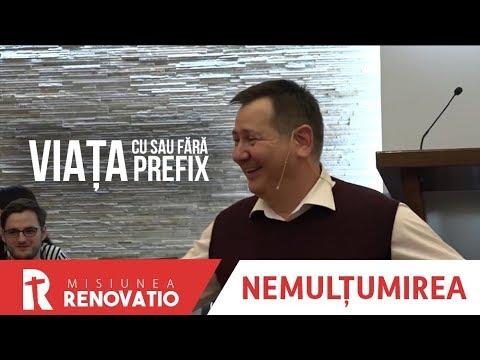 Florin Ianovici - 1. Nemulțumirea, Viața cu sau fără prefix | MISIUNEA RENOVATIO, Ploiești