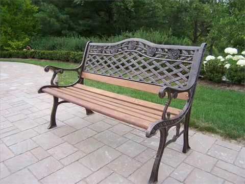 Cast Iron Garden Furniture I Cast Iron Metal Garden Furniture