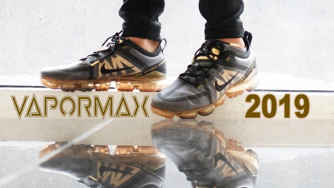 timeless design 90ea9 b35a2 Nike VaporMax 2019 Black/Gold Review