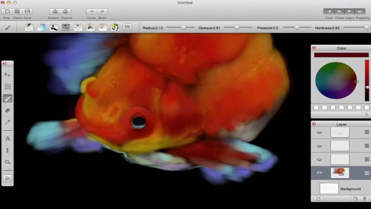 Paint tool for mac paint on mac with a natural drawing for Paint tool sai mac
