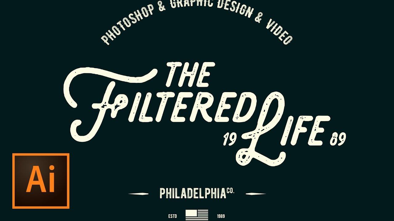 Create a Simple Hipster Logo Design in Illustrator