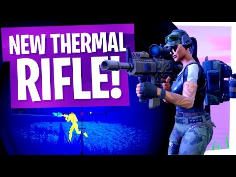 The New Thermal Rifle is AWESOME! - Fortnite Thermal Scoped Assault Rifle Gameplay thumbnail