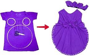 اسهل طريقه لخياطة فستان بفكره جديده ومذهله