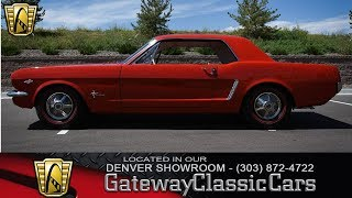 1964 1/2 Ford Mustang Hi-Po Now Featured In Our Denver Showroom #108-DEN