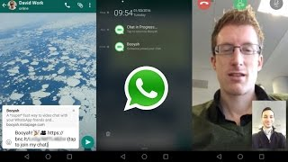How to make a video call on Whatsapp!!
