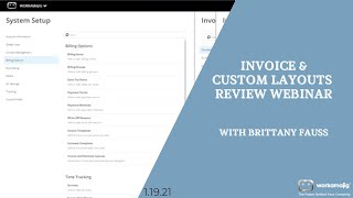 (New Feature!) Invoice and Custom layouts in Workamajig