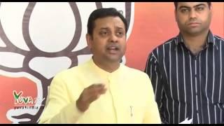 Dr  Sambit Patra on Farmer Gajendra Singh Suicide at AAP Kisan Rally at Jantar Mantar