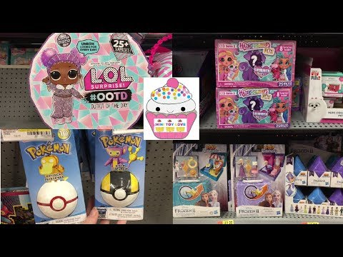 Toy Hunt #210 LOL Surprise OOTD Frozen 2 Pokemon Funko Hairdorables Pets