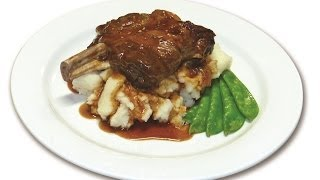 Happy Camper Gourmet Lamb Shank With Red Wine & Rosemary