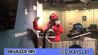 Pt.2 Cast members from the hit TV Show power Interview with Dj Kayslay at Shade 45