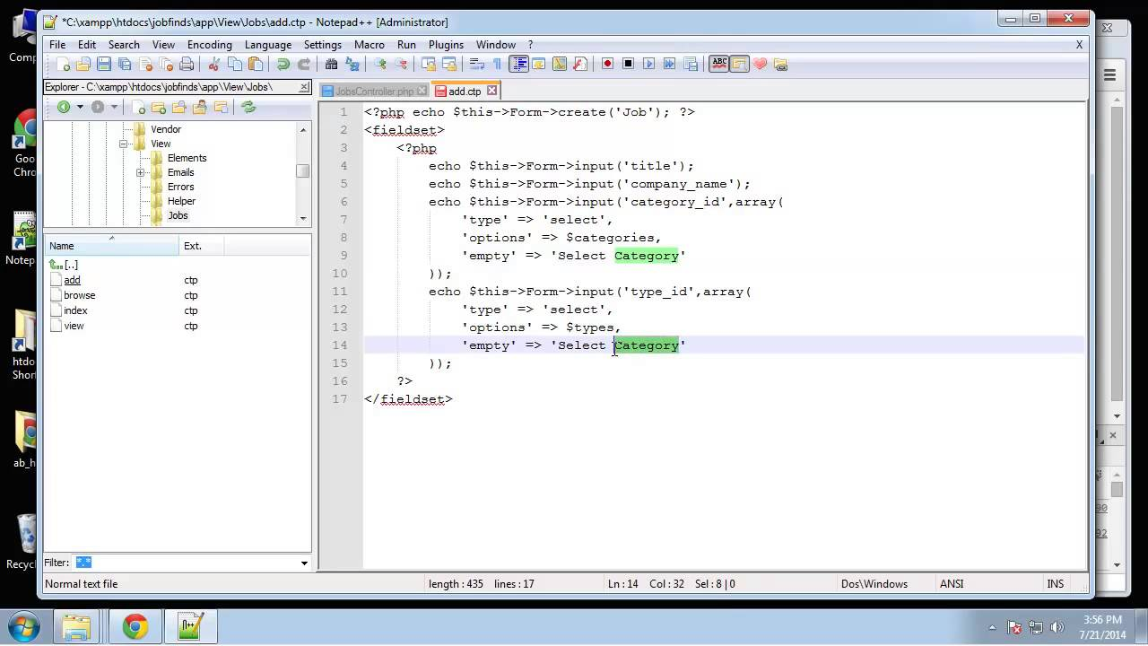 9 66 php and mysql add edit and delete jobs - Php Mysql Jobs