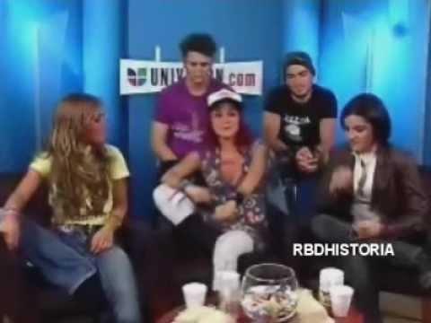 [2006] RBD En Univision En Un Chat [COMPLETO]