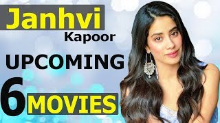 Janhvi Kapoor Upcoming 6 Movies | Release Date | Cast & Crew | First Look & Poster