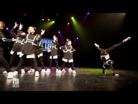U.S.D.A KIDS (3RD PLACE) BREAK A LEG 2017 | Hiphop Crew Competition CADETS