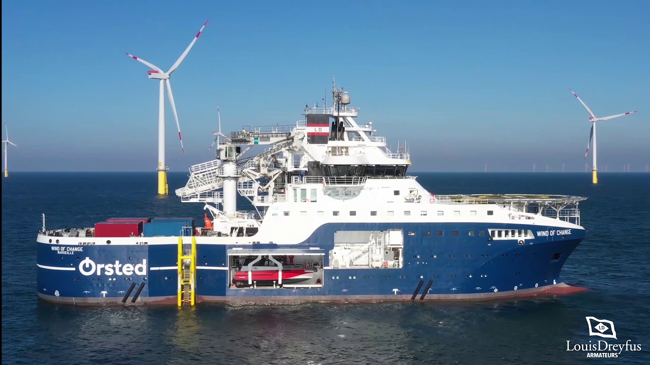2019 - SOV Wind of Change - Offshore Windfarm Maintenance