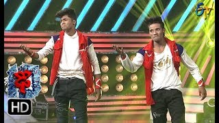 Raju Performance | Dhee 10 | 4th October 2017| ETV Telugu