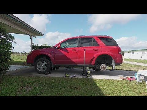 How to change Brake Drums and Shoes on a 2006 Saturn Vue
