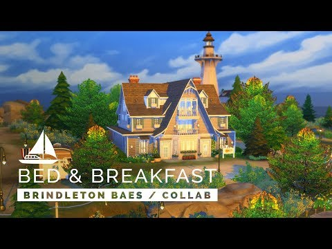 Sims 4  |  Speedbuild  |  Brindleton Baes World Collab - Isle Bed & Breakfast