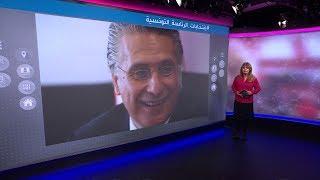مناظرة في #تونس بين المرشح الرئاسي التونسي نبيل القروي المفرج عنه وقيس سعيد