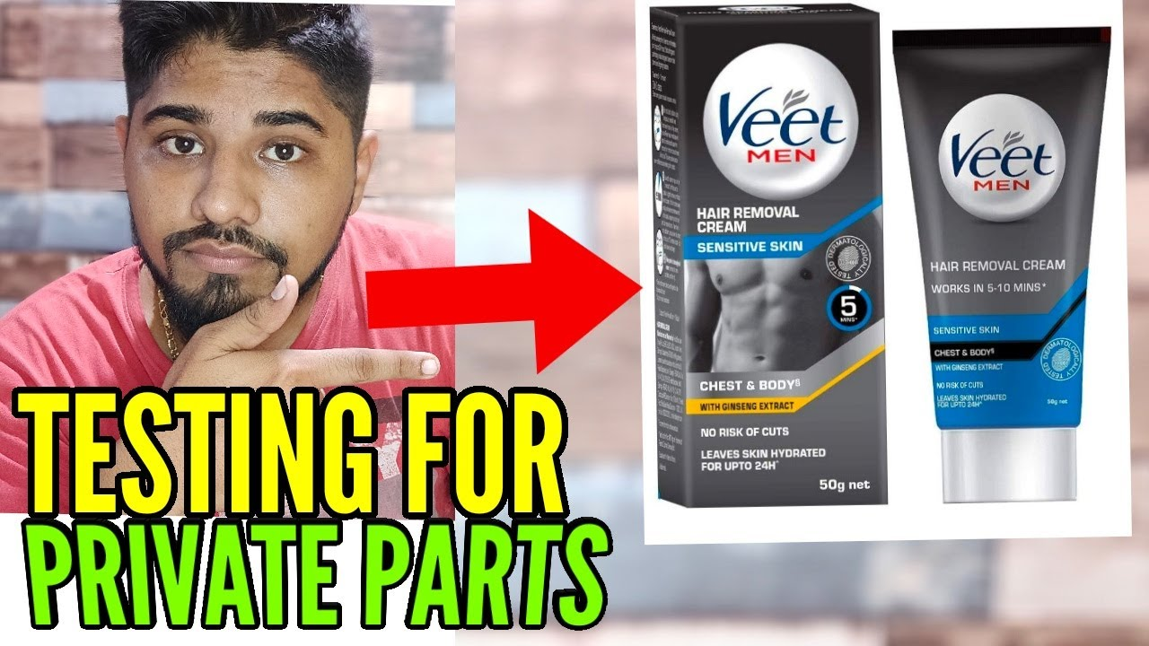 Veet Men For Private Parts Youtube