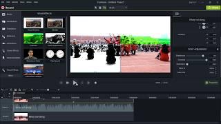 Cách tạo hiệu ứng về màu sắc video trong Camtasia | Pistol channel