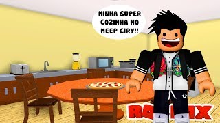 A COZINHA MAIS LEGAL DO MEEP CITY NO ROBLOX!!
