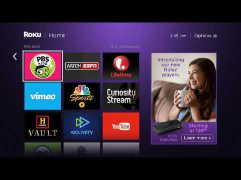 How to add and remove Roku channels