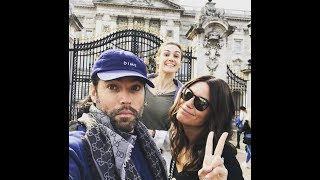 TIM ROZON AND KATHERINE BARRELL /  RAY GALLETTI  SIGHT SEEING IN LONDON B4 GOING TO EARPER CON 2017