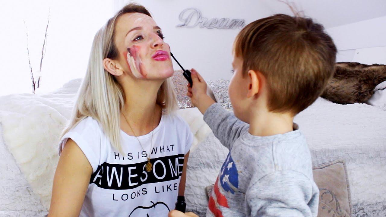 Mein Sohn schminkt mich ♡ :-D | How to be a Lion | My Kid