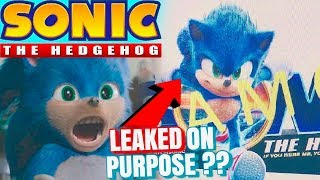 Sonic The Hedgehog Movie LEAKED Trailer Date & MORE!!