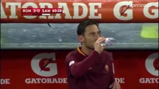 AS Roma vs Sampdoria 4-0 ---19/1/2017