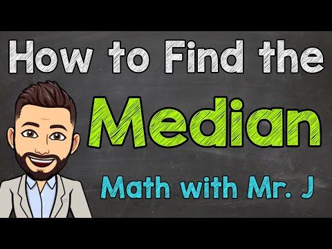 How to Find the Median | Math with Mr. J