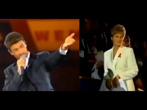Documentary 2017 - Princess Diana & George Michael At Concert Of Hope For AIDS Charity (December 2,