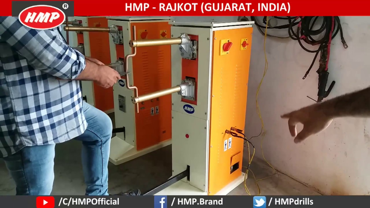 HMP Spot Welding Machine (Without Timer) Rajkot Gujarat INDIA | Rajlaxmi  Machine Tools