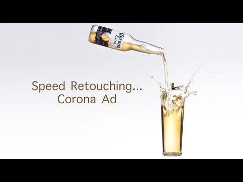 60-Second BTS Video Speeds Through the Retouching of a Corona Advertisement