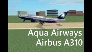 ROBLOX | Aqua Airways A310 Flight