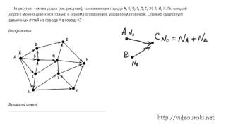 B9. Поиск путей в графе. ЕГЭ по информатике