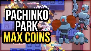 New Robo Rumble Strategy! Pachinko Park - How To Get Max Coins [Brawl Stars]