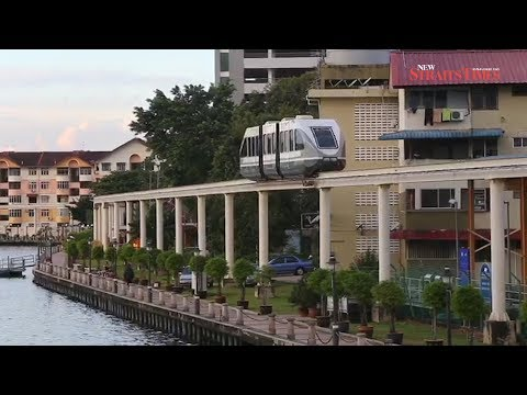 Melaka Monorail resumes operations after four year hiatus