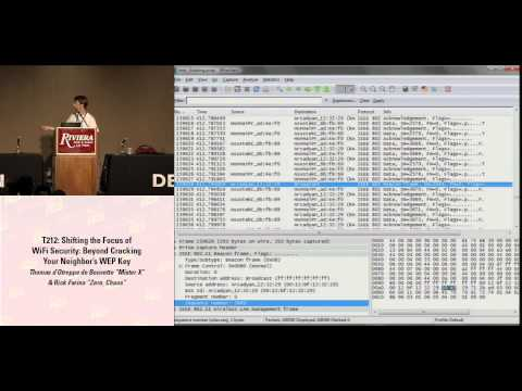 DEFCON 16: Shifting the Focus of WiFi Security: Beyond cracking your neighbor's wep key