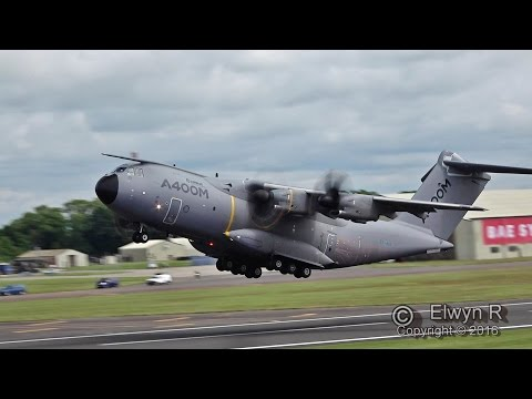 AIRBUS A400M incredible climb after Take-off!!!