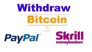 How to Cash Out Bitcoin in India Through PayPal & Skrill   RBI Ban on Bitcoin