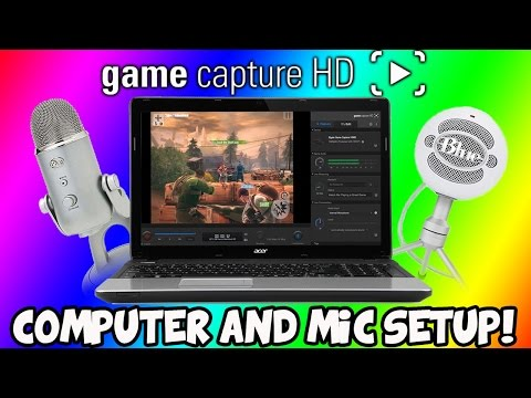How To Setup Elgato Game Capture With Computer and Mic (EASY)