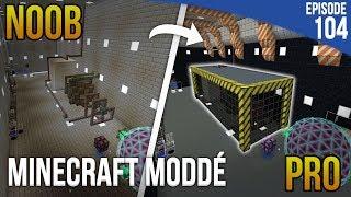 PASSER DE NOOB À PRO EN CONSTRUCTION !   Minecraft Moddé S3   Episode 103