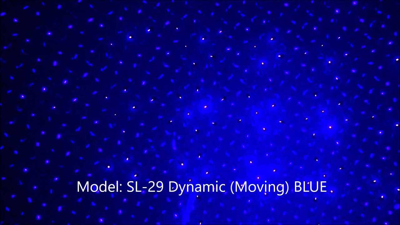 blue moving firefly laser holiday christmas lights model sl 29 from spectrum laser lights